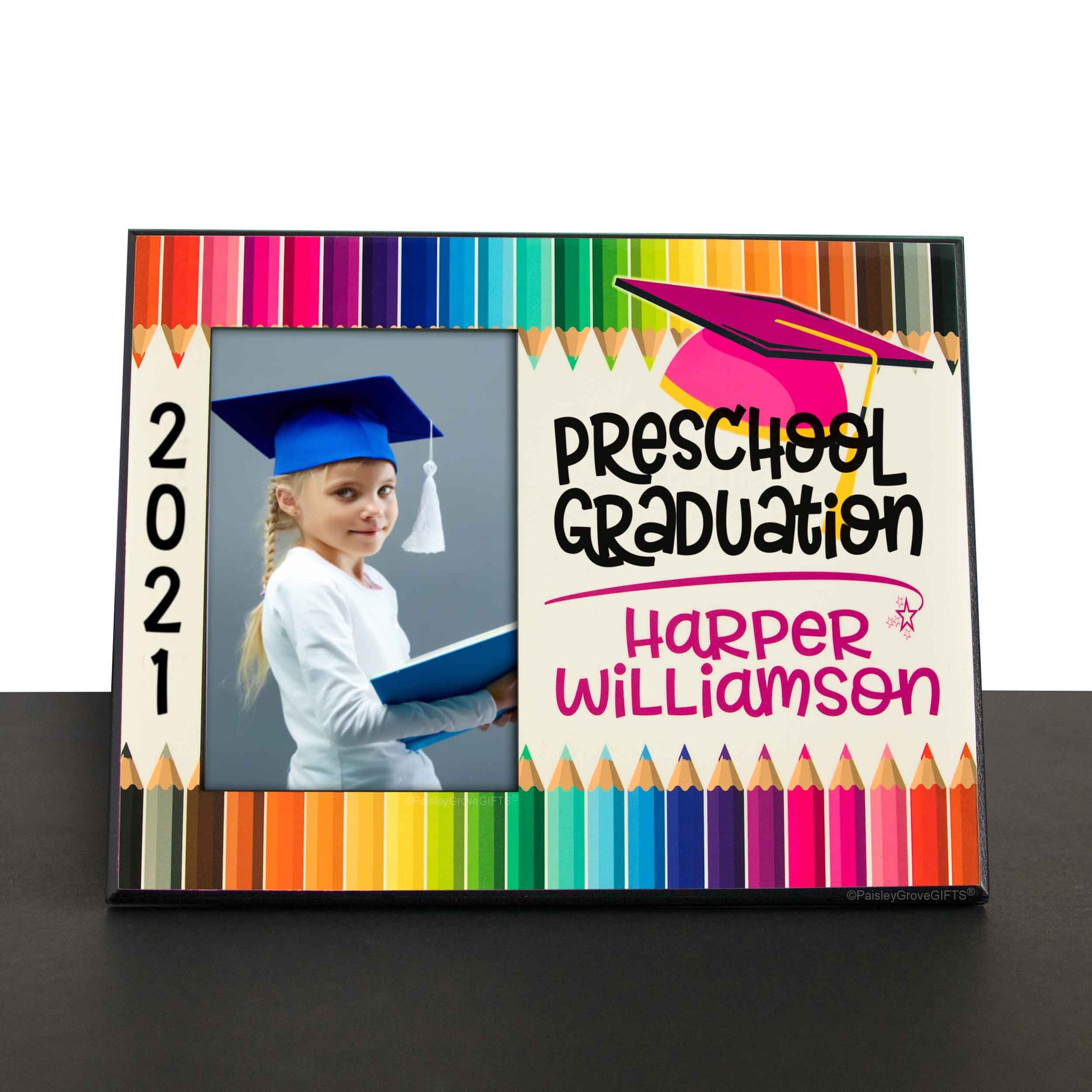 CopyrightPaisleyGroveGIFTS S228d Sentimental gift for preschool graduation personalized gift for Girls
