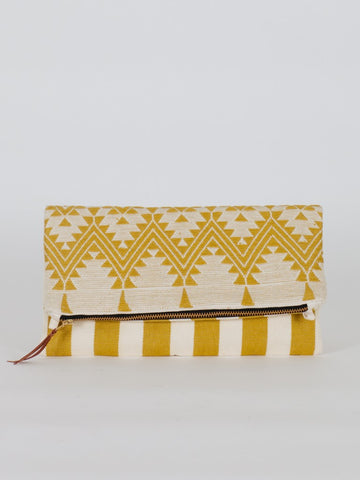 Ornate Foldover Clutch