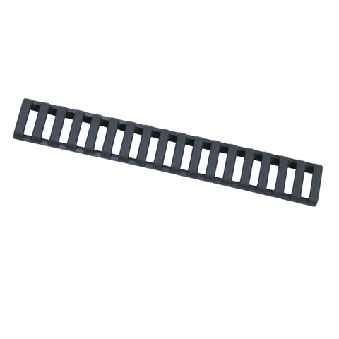 18 Slot Ladder Low Pro Rail Covers - Olive Drab, Per 3