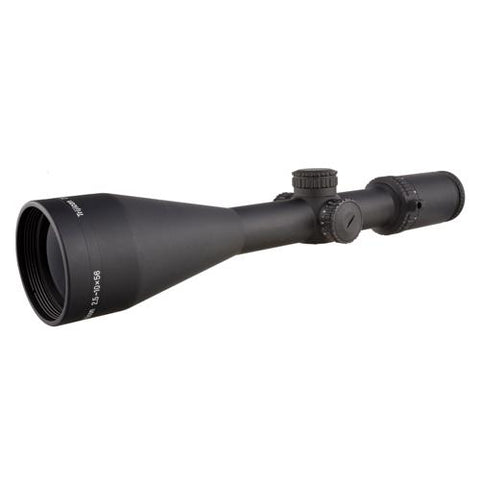 AccuPower 2.5-10x56mm Riflescope - 30mm Main Tube, Duplex Crosshair Reticle with Red LED, Matte Black