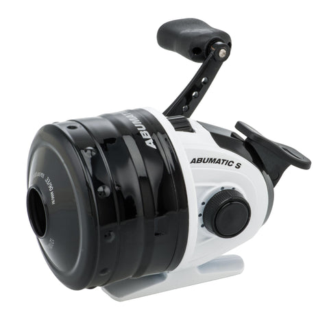 "Abumatic S Spincast Reel - 15, 4.3:1 Gear Ratio, 2 Bearings, 28"" Retrieve Rate, Ambidextrous, Clam Package"