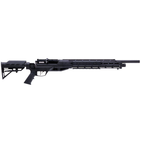 Armada Air Rifle - .22 Caliber, Rifled-Shrouded-Choked Barrel, Synthetic Black