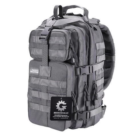 Crossover Low Profile Backpack - GX-400, Gray