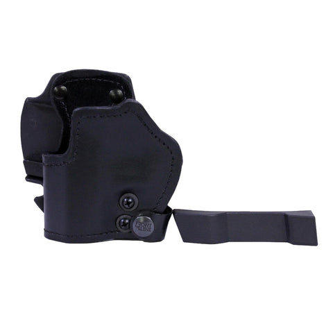 3 Layer Synthetic Leather Belt Holster - H&K P7-13, Black, Left Hand