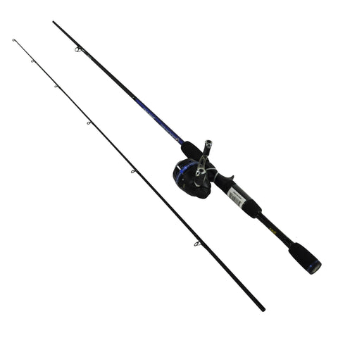 American Hero Freshwater Spincast Combo, 6' 2pc Rod, 3.1:1 Gear Ratio 0 Bearings
