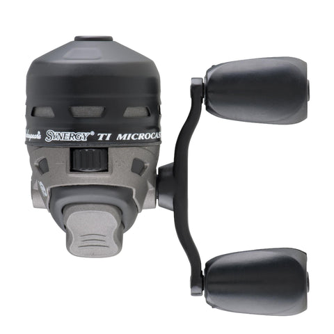 Synergy Ti Spincast Reel - 4 Reel Size, 4.4:1 Gear Ratio, 2 Bearings, 4 lb Pre-Spooled, Ambidextrous