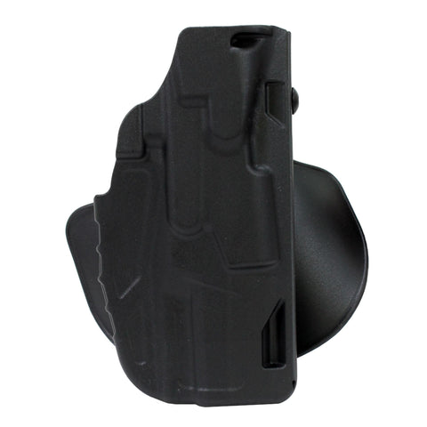 7378 7TS ALS Open Top Concealment Paddle Holster - H&K USP C9-40 Spur Hammer, Black, Right Hand