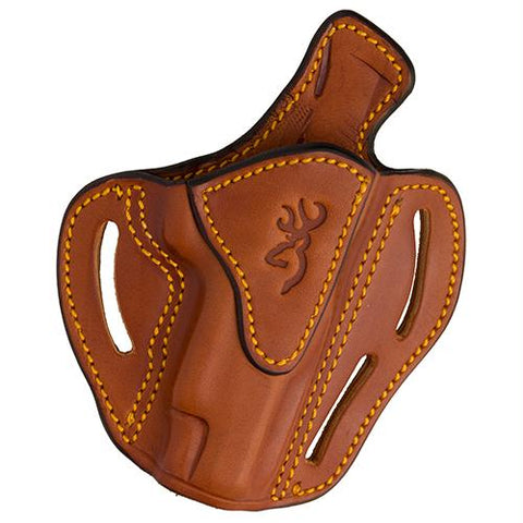 Leather Holster - 1911-22-1911-380, Multi-Angle Open Top, Tan