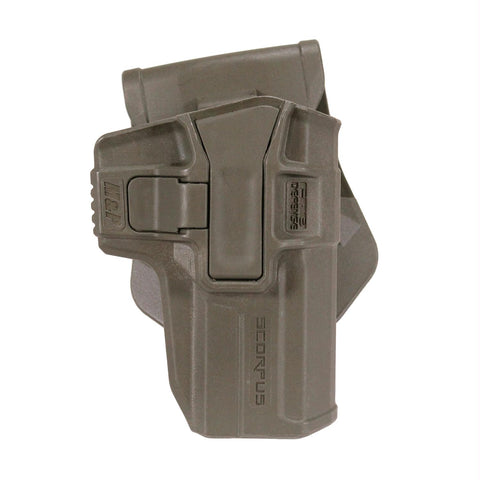 Smith & Wesson M&P Level 1 Holster - Swivel, Paddle-Belt, Ambidextrous, Olive Drab Green