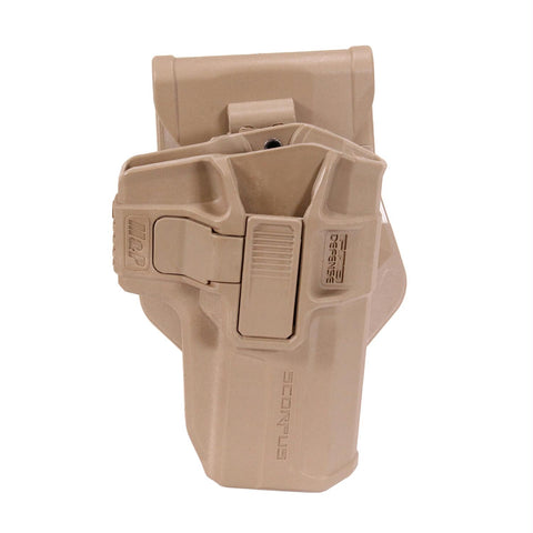 Smith & Wesson M&P Level 2 Holster - Swivel Retention, Paddle-Belt, Right Hand, Flat Dark Earth