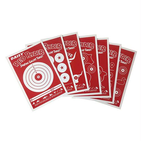 Red Ryder Paper Targets, Package of 25