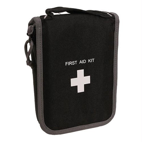 Compact First Aid Kit with Pistol Storage