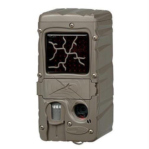 CuddeLink Dual Flash Game Camera, 20 Megapixel, Brown