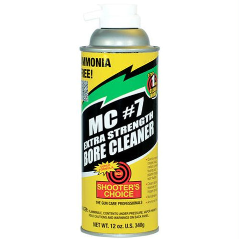 MC #7 Firearms Bore Cleaning Solvent Liquid - Extra Strength, 12 oz Aerosol Can