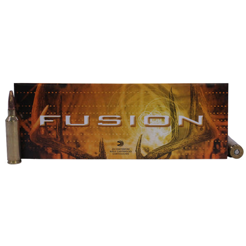 270 Winchester Short Magnum - Fusion, 150 Grains, Spitzer Boat Tail, Per 20