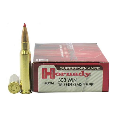 308 Winchester - 150gr GMX (Per 20)  Superformance