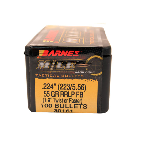 223 Caliber-5.56mm Bullets - RRLP, 55 Grains, Frangible Flat Base (FFB) Lead-Free, Per 100