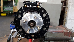 Vauxhall Corsa Drag car brake kit
