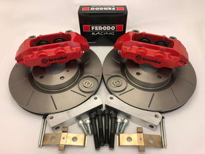 Mitsubishi Evo 4 Brembo 4 pot big brake kit