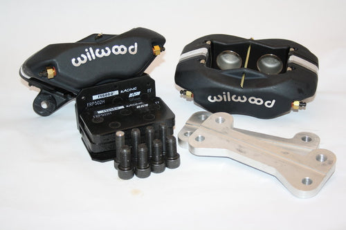 Mitsubishi Evo 4 Wilwood Dynalite 4 pot brake kit