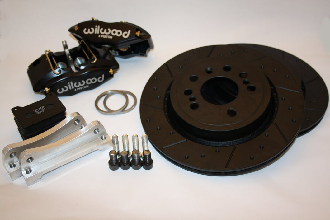 Toyota MR2 Roadster (Mk3) Wilwood Powerlite 4 pot brake kit (Rear)