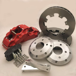 Mazda MX5 Mk4 (ND) 4 pot Red Pro Race 5 Brake kit