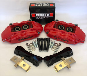 BMW E9x Non-M3 Brembo 4 pot big brake kit (348mm)