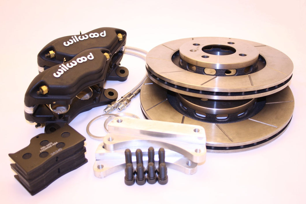 Toyota MR2 (Mk1) Wilwood Dynalite 4 pot brake kit
