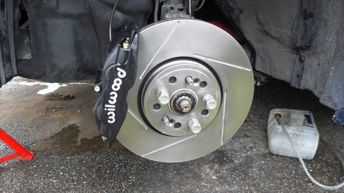 Honda Accord Wilwood Superlite 4 pot brake kit