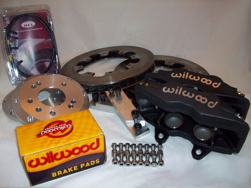 Wilwood 4 pot Superlite Brake Kit with 2 piece discs