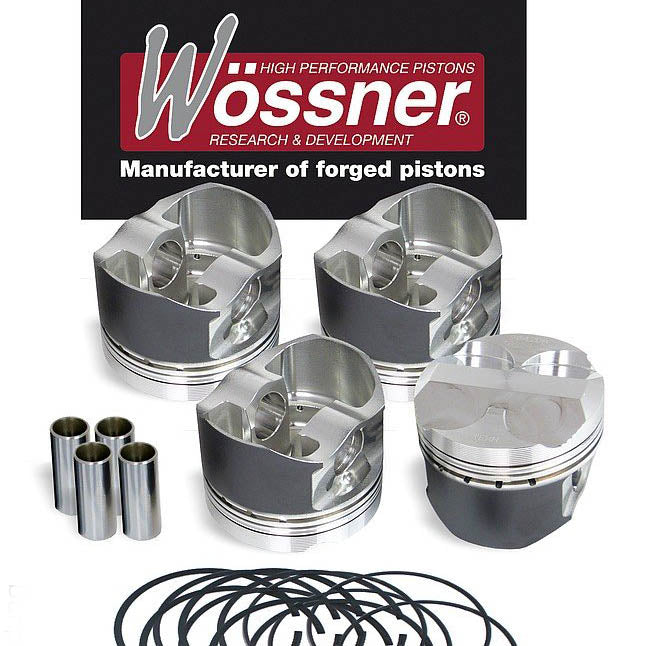 Mazda MX5 1.6 High Compression Wossner Forged Piston Kit
