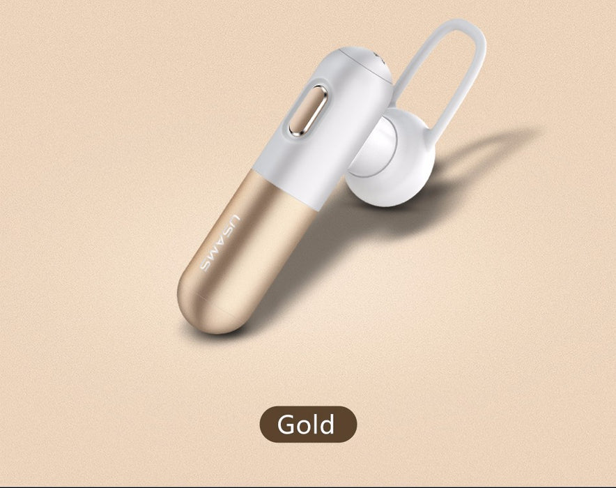 USAMS Bluetooth Earphone Mini Wireless Earphones with MIC Stereo Handfree Earphone - iDeviceCase.com