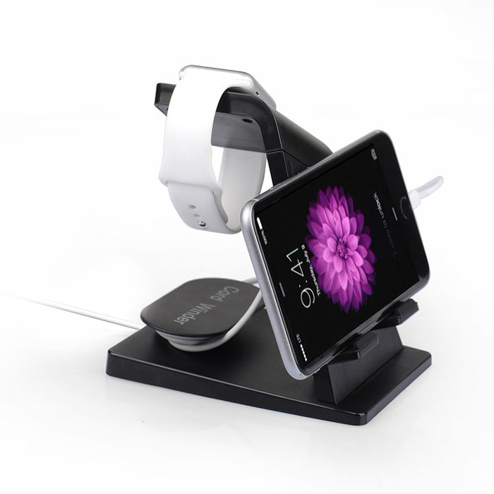 Itian Portable Desktop multi function USB Cradle Dock Charger Charging Station Stand Holder Mount For Apple iPhone 8 iPad Watch - iDeviceCase.com