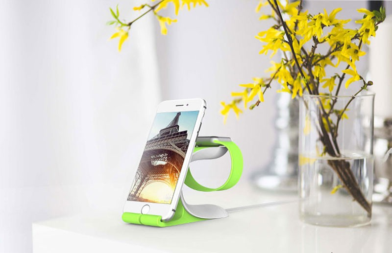 SUPTEC Multi-function Phone Holder for iPhone Charging Stand Holder Desk Dock Station - iDeviceCase.com