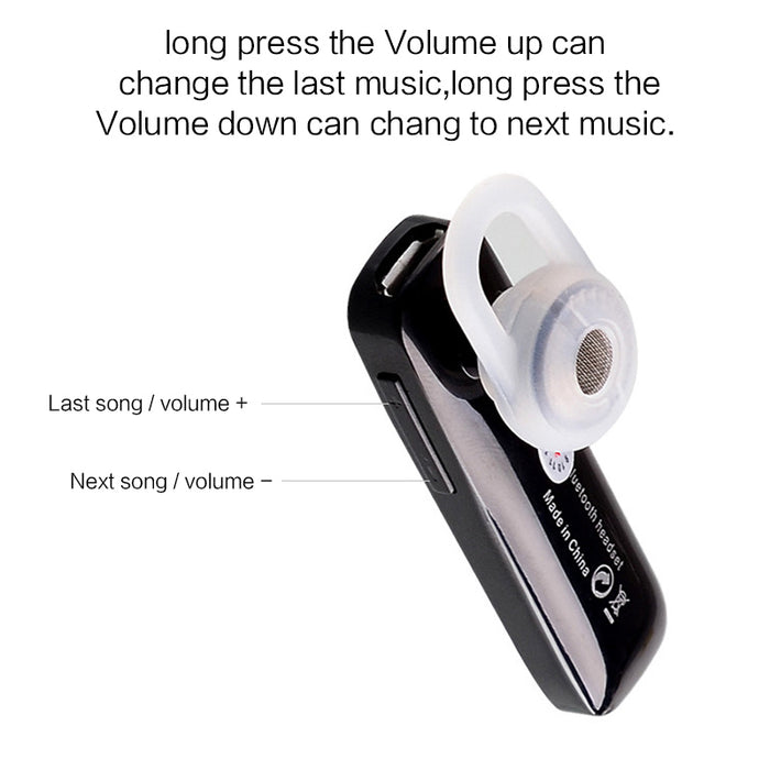 Universal Mini Stereo Headset Bluetooth Earphone Headphone  V4.0 Wireless Bluetooth - iDeviceCase.com