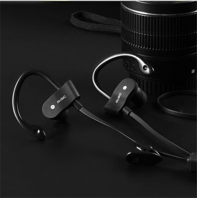 Comfortable Headset Wireless Earphone Headphone Bluetooth Earpiece Sport Running Stereo Earbuds - iDeviceCase.com