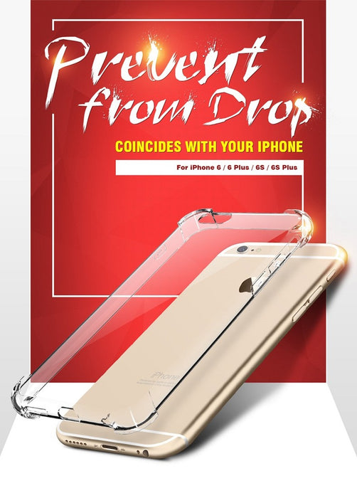FLOVEME New Luxury Case ,  Transparent Clear Cover Anti-knock Fundas - iDeviceCase.com