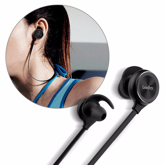 LeadTry Sports Bluetooth Headphones Wireless Headset Stereo Bass Sound Noise Cancelling - iDeviceCase.com