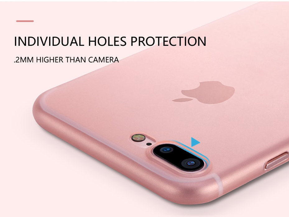 FSHANG For iphone 7 X Case Ultra Thin Protective Matte Soft Cover Coque for Apple iphone X 7 Plus 7plus Case Luxury Bumper 10 8X - iDeviceCase.com