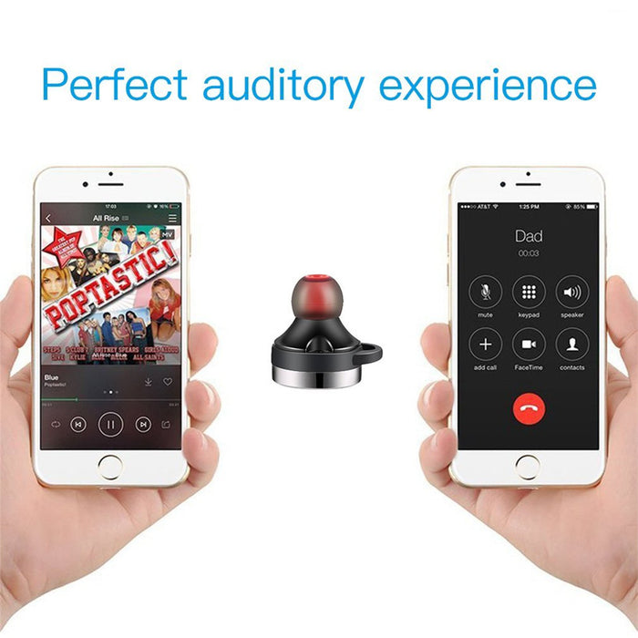 Teamyo TWS-B1 Mini Bluetooth Earphone Wireless Headset with Mic earbuds + Smart Power Bank - iDeviceCase.com