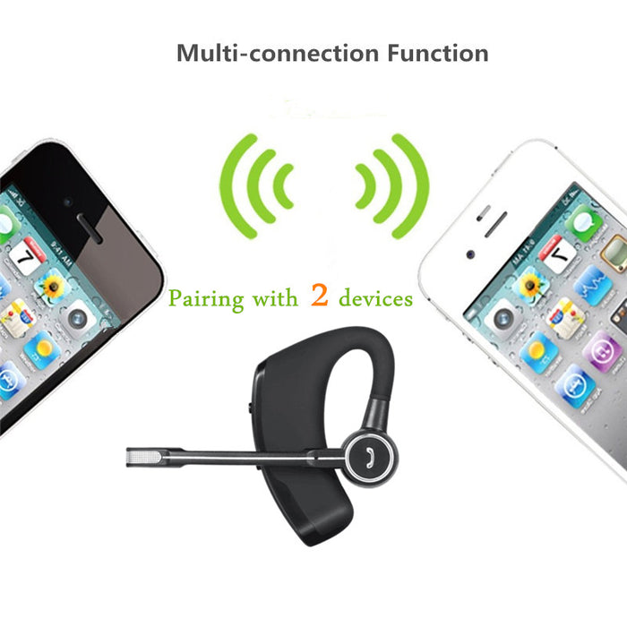 Business Auriculares Bluetooth Earphone Noise cancelling Voice Control Office Wireless Headphone Headset Driver Sports Running - iDeviceCase.com