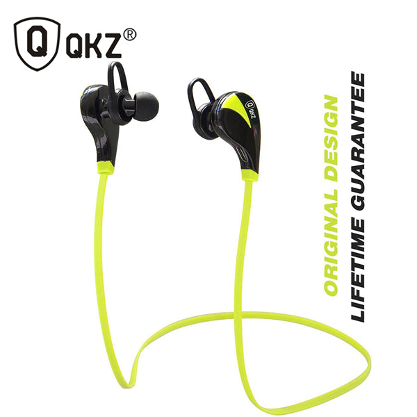 Bluetooth Earphone QKZ G6 Wireless Stereo Earphones Fashion Sport canalphones Studio Music Headsets - iDeviceCase.com