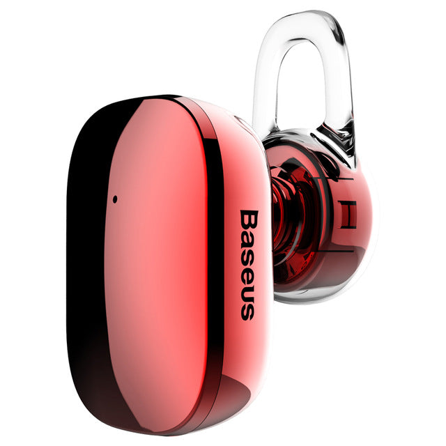 Baseus Mini Bluetooth Earphone Wireless Bluetooth Headset Headphone with Mic 4.1 Ear Hook Earbuds - iDeviceCase.com
