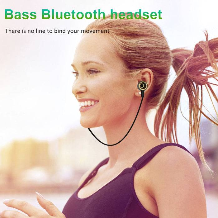 LENK S6 Bluetooth Earphone Sport Running With Microphone Earbud Wireless Earphones Bass - iDeviceCase.com