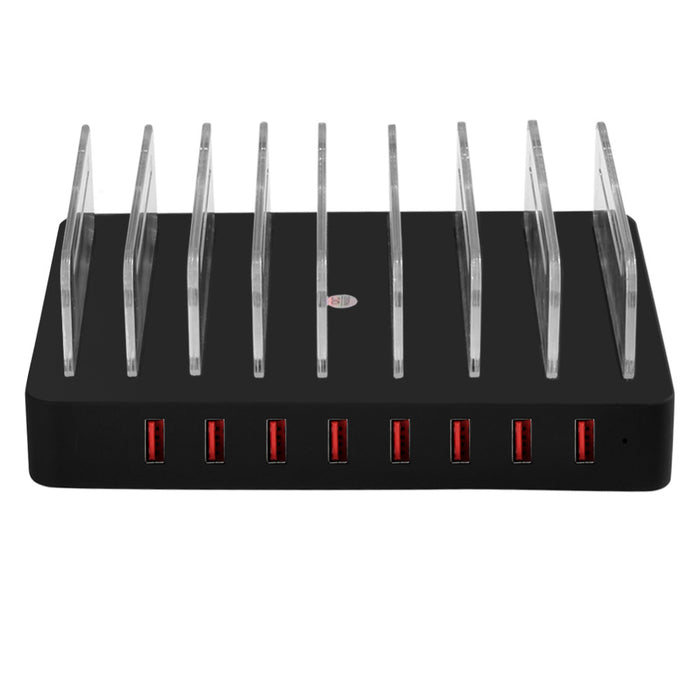 VOXLINK USB Charging Station Dock,Universal 8-Port Multi Desktop USB Charger with Stand - iDeviceCase.com
