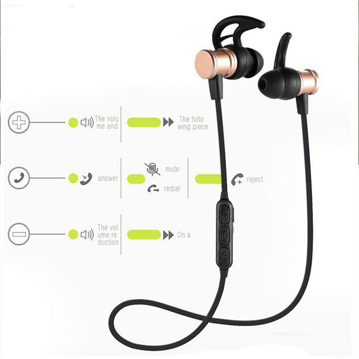 MLLSE Bluetooth Earphone Headphones Sport headset wireless bluetooth earphone headphone gamer headset For iPhone Android Phone - iDeviceCase.com