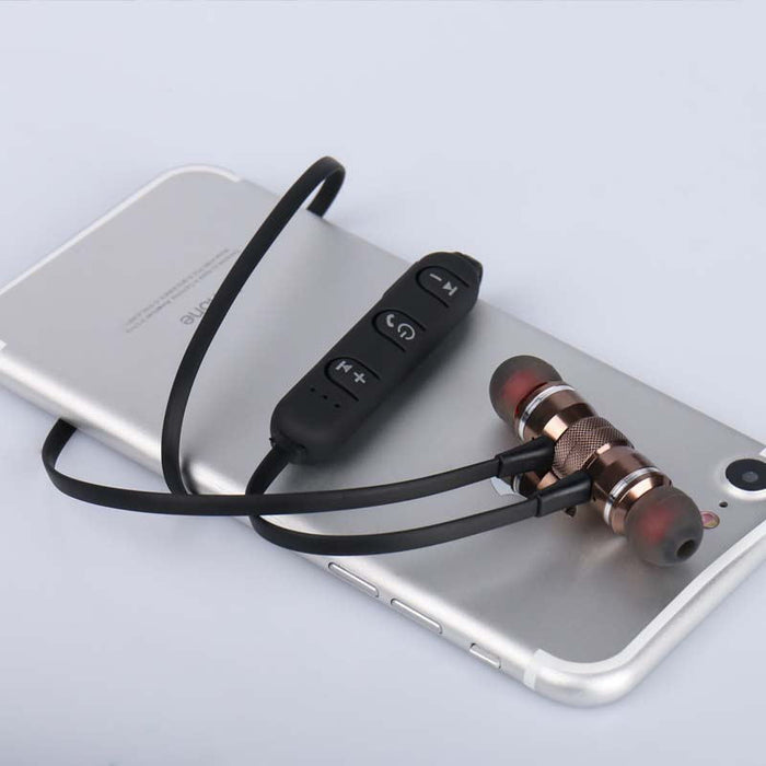 Wireless Headphone Bluetooth Earphone Fone de ouvido For Phone Neckband Bluetooth 4.1 - iDeviceCase.com