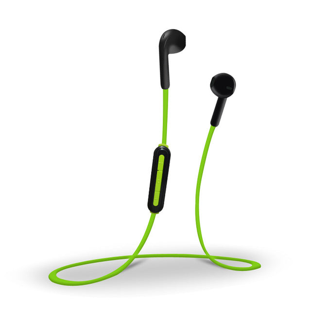 Bluetooth earphones sport wireless bluetooth 4.1 headphones binaural stereo headset with Mic for iphone 5s 6 7 free shipping - iDeviceCase.com