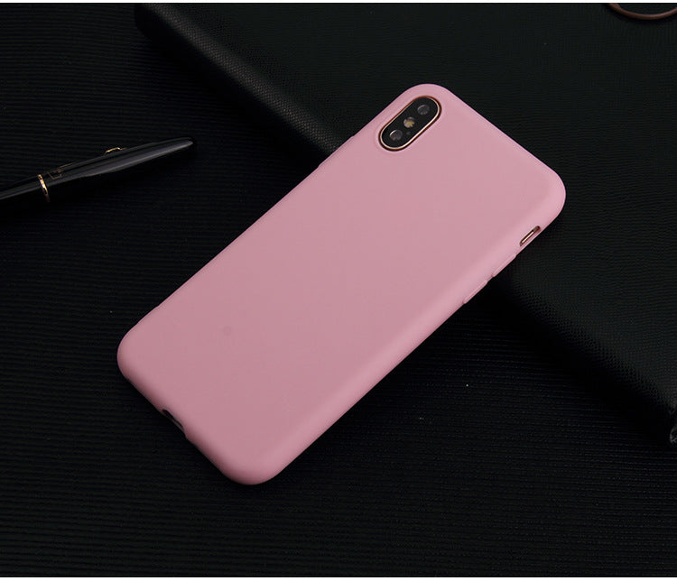 For iphone X Case Ultrathin Candy Colorful TPU Soft Phone Cases For iphoneX Case Covers Skin Fundas - iDeviceCase.com