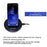 ECDREAM Qi fast wireless charger for Samsung galaxy S8 S7 dock mobile phone battery power charging - iDeviceCase.com